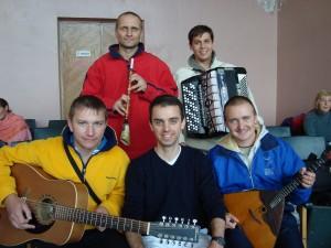 Mes amis de Blue-Gold Shore of the Beyond (Sibérie)