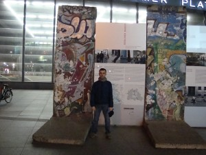 Original Berlin Wall in original location