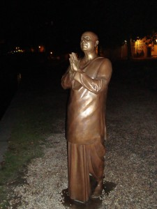 Statue of Sri Chinmoy by Kaivalya Torpy