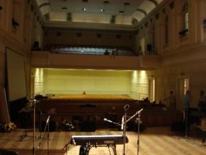 The Slovenska Filharmonija Concert Hall in Ljubljana