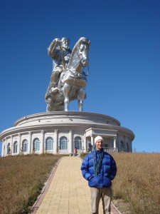 Monument to Genghis Khan built in 2008