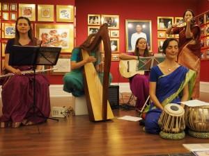 Sangit Surabhi performing